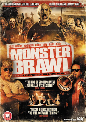 Monsters fighting DVD