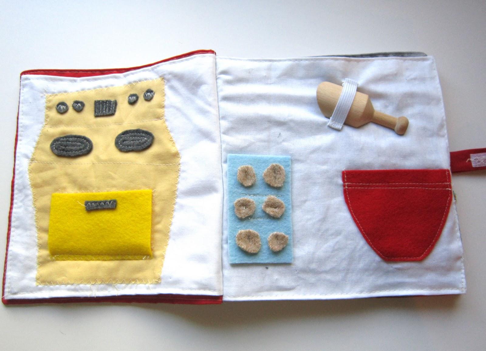 Tutorials Crafts Projects Kids Children Handmade: Quiet Book Photo ...