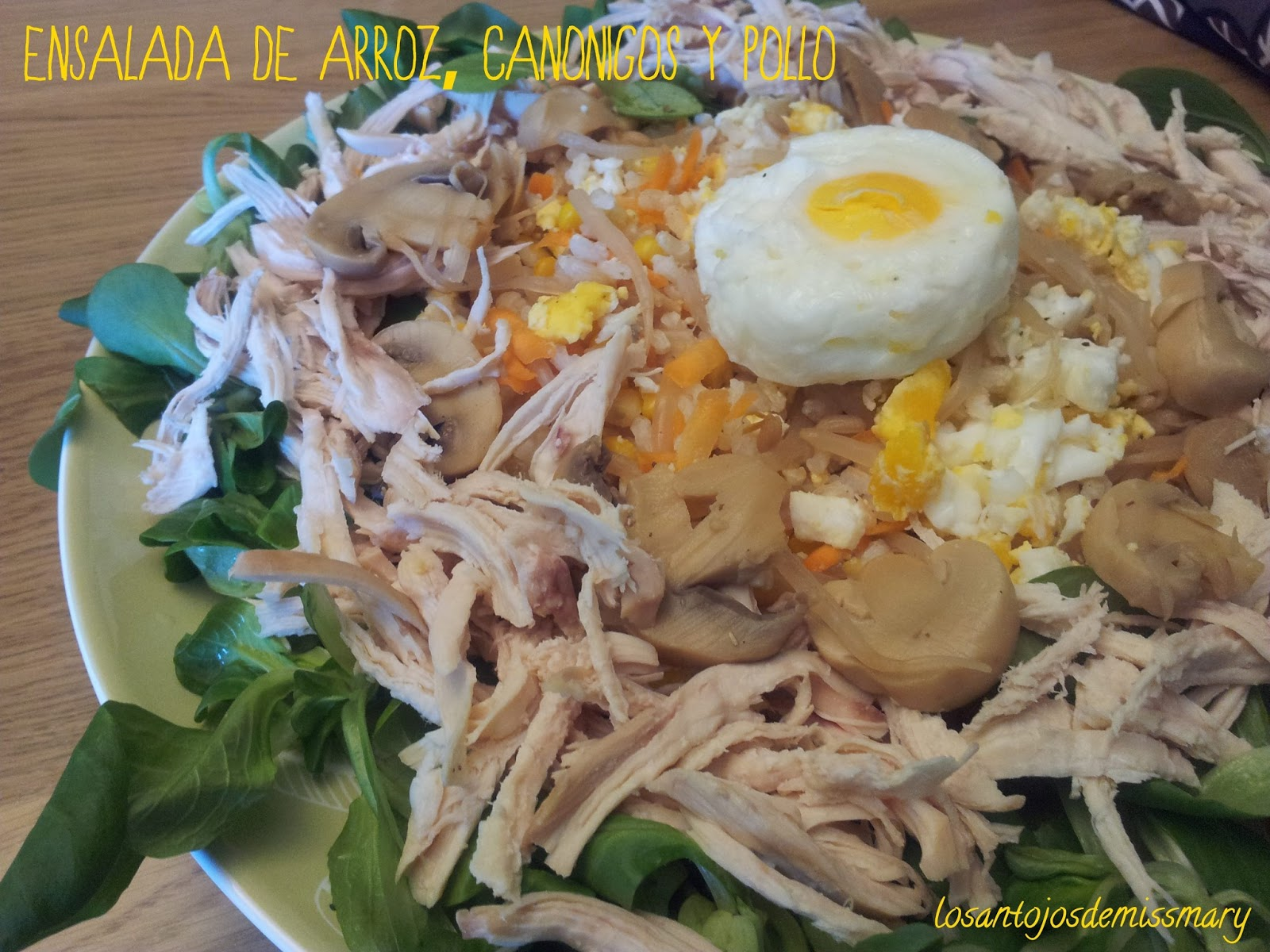 Los antojos de miss mary ensalada de arroz integral - Ensalada de arroz light ...