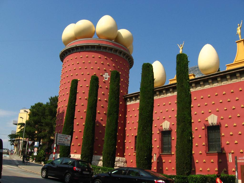 how to get to dali theatre museum from barcelona