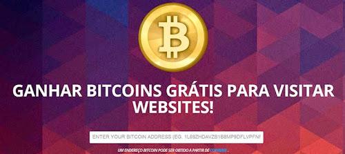 Ganhe bitcoin visitando sites por cinco minutos com bitvisitor