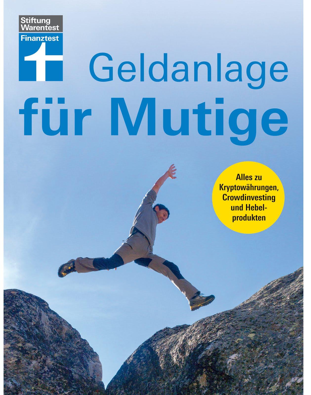 """Neuerscheinung """"Geldanlage für Mutige"""""""
