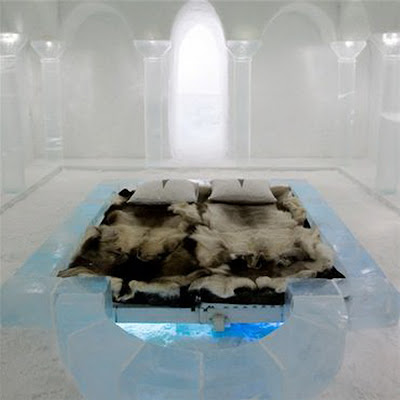 Ice Hotel In Sweden City