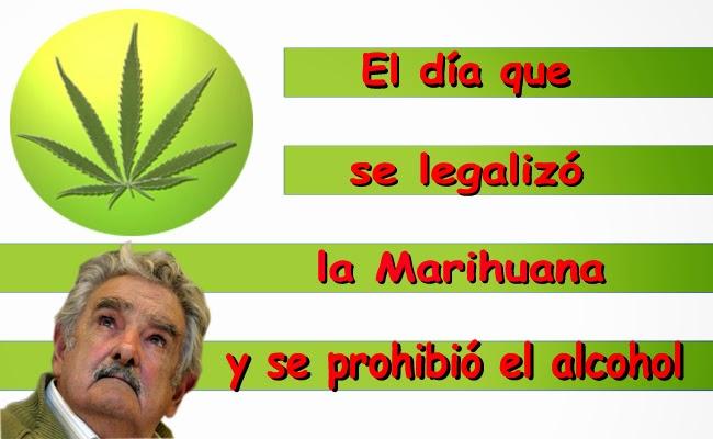 El día que se legalizó la marihuana y se prohibio el alcohol