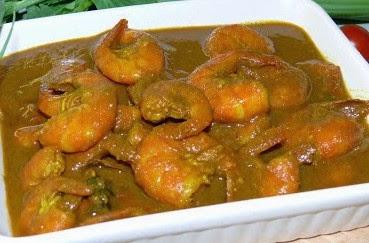 Masakan Gulai Udang Aceh Enak