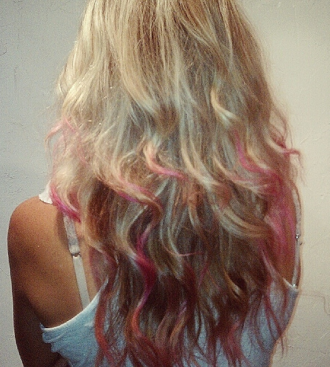 Beautifully Ordinary: Obsessed: Dip-Dyed Hair