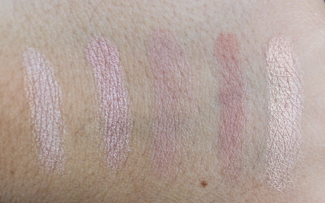 loreal la palette nude swatches
