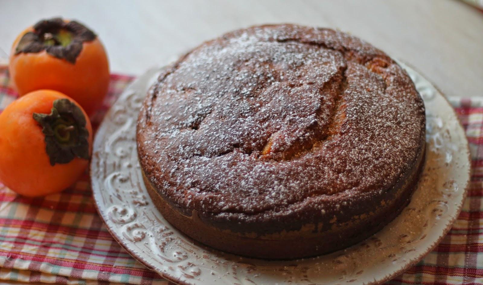 torta di cachi
