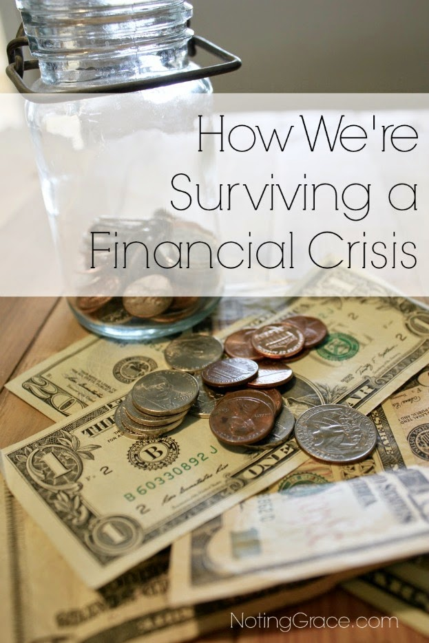 When a financial crisis hits, what can you do to prepare for whats ahead. 5 great tips to help you get through the rough times.