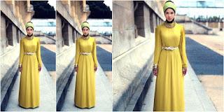 maxi-dress-gaya-hijabers