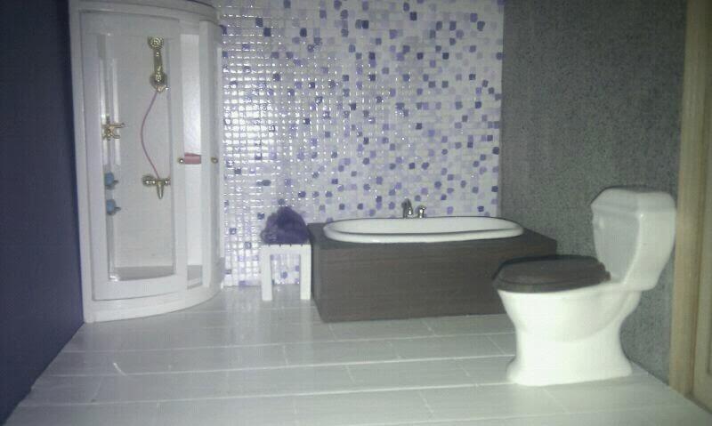 Azulejos Para Baño Color Lila:Bueno guap@s , hoy os vengo a enseñar el baño de mi casita