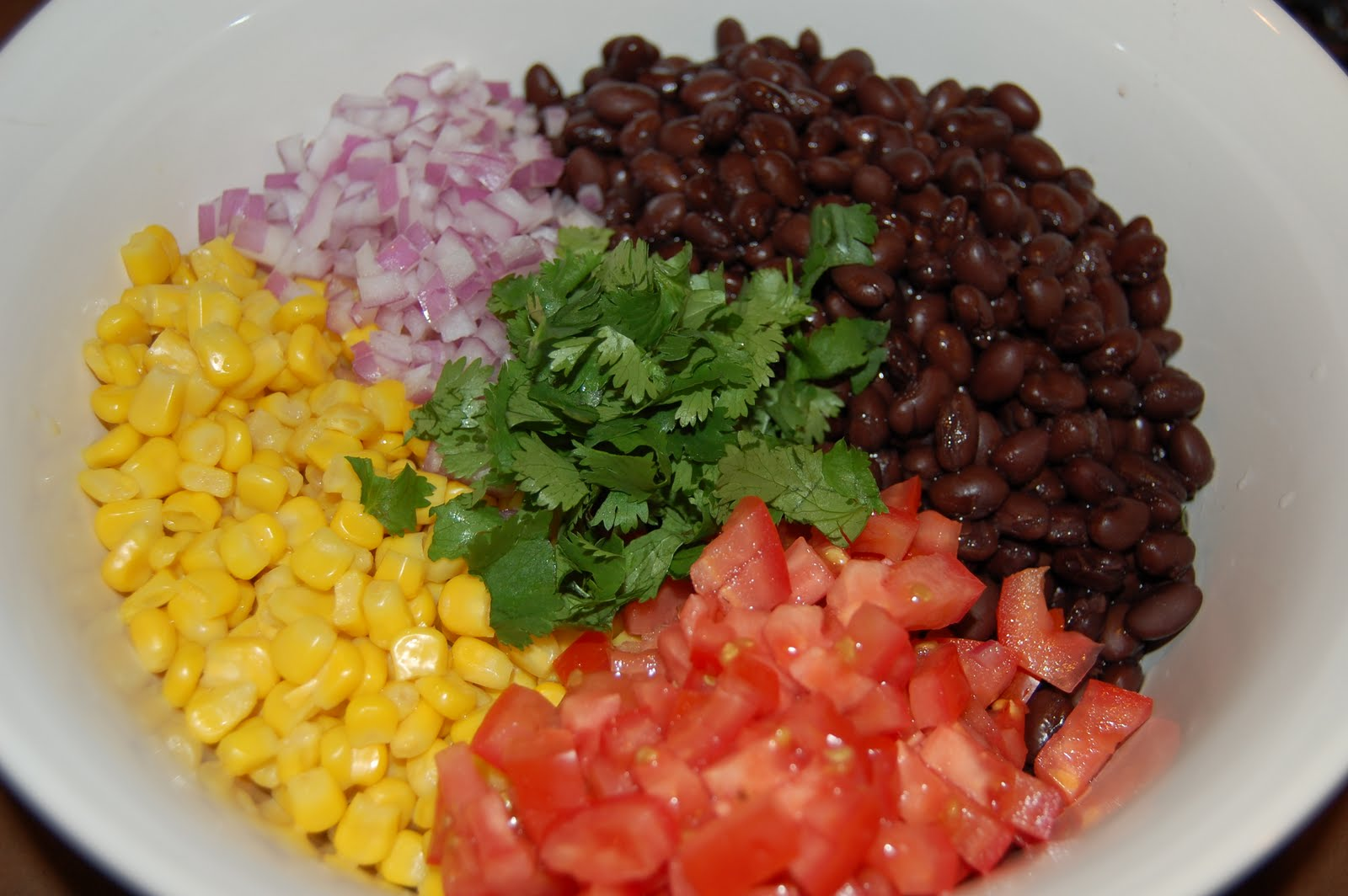 Dinner with The Donnells: Southwestern Black Bean Salad