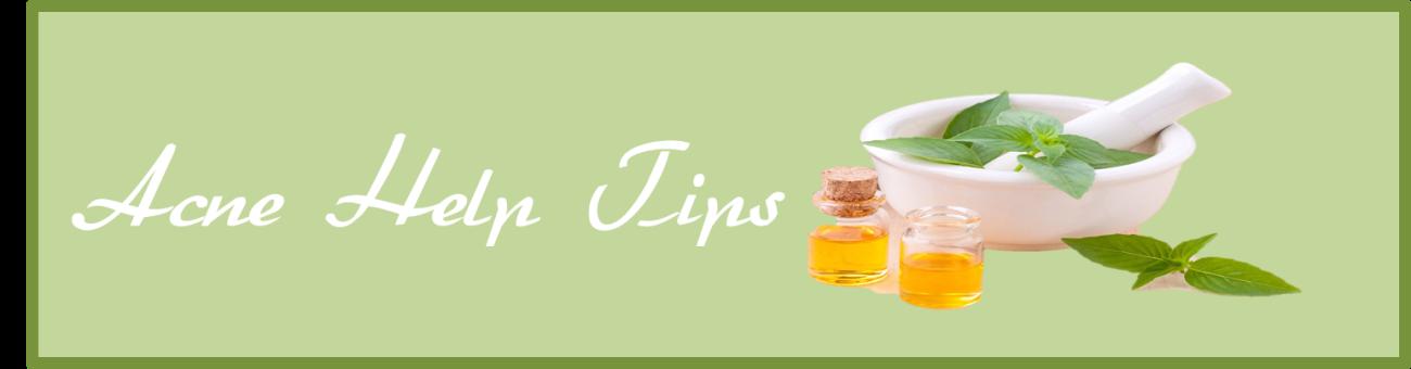 Acne Help Tips
