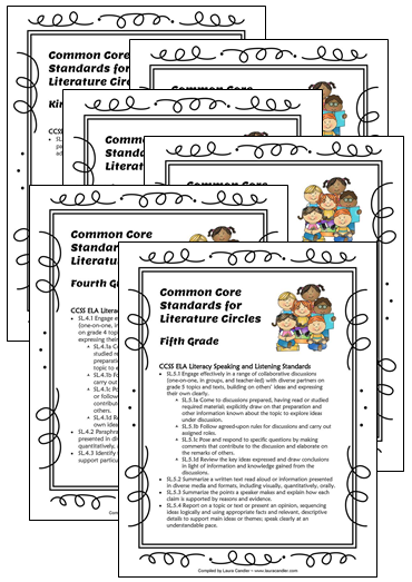 Worksheet Literature Circles Roles Worksheets corkboard connections literature circles common core aligned fun fun
