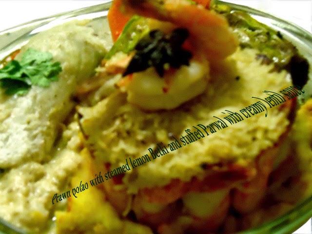 Prawn Polao - Traditional Indian recipe