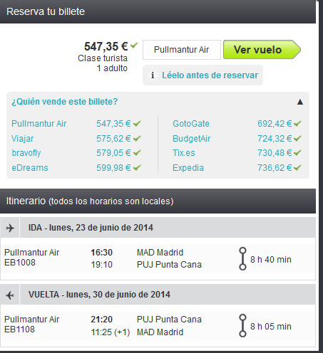 Punta Cana low cost