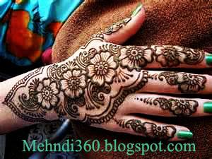 Flower Wali Mehndi : Mehndi designs arabic bridal