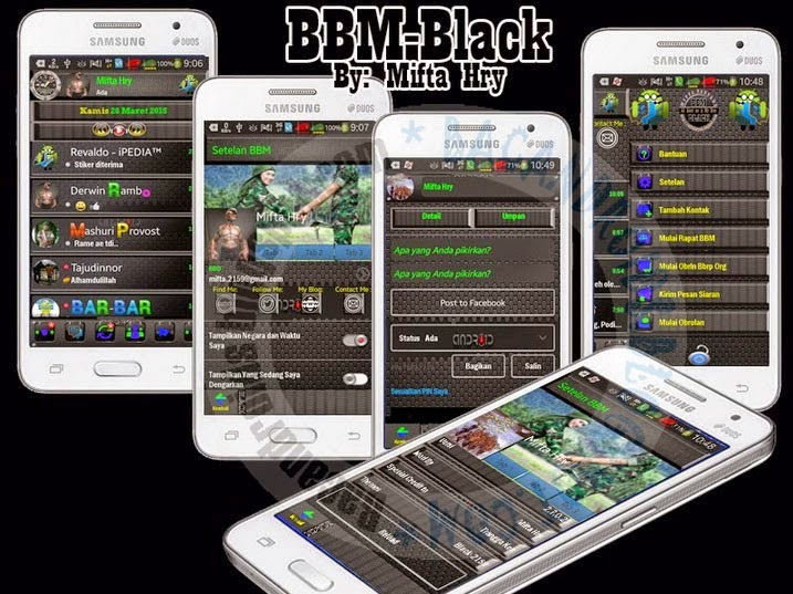 BBM Mod Black Style