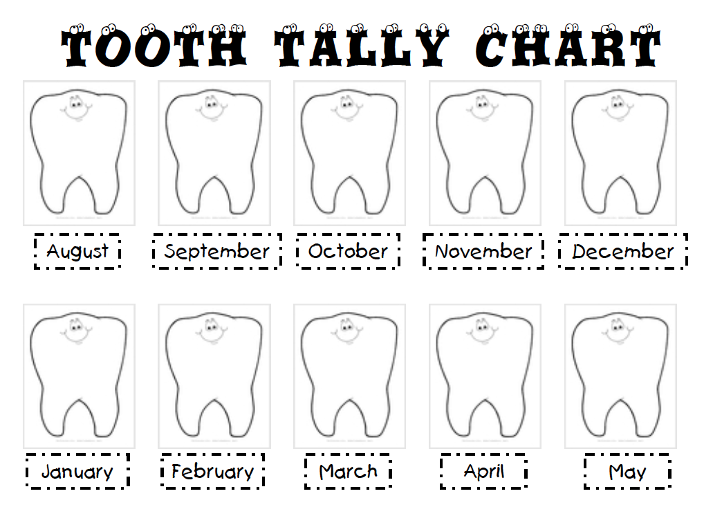 tooth tally mark chart moreover greater than and less kindergarten ...
