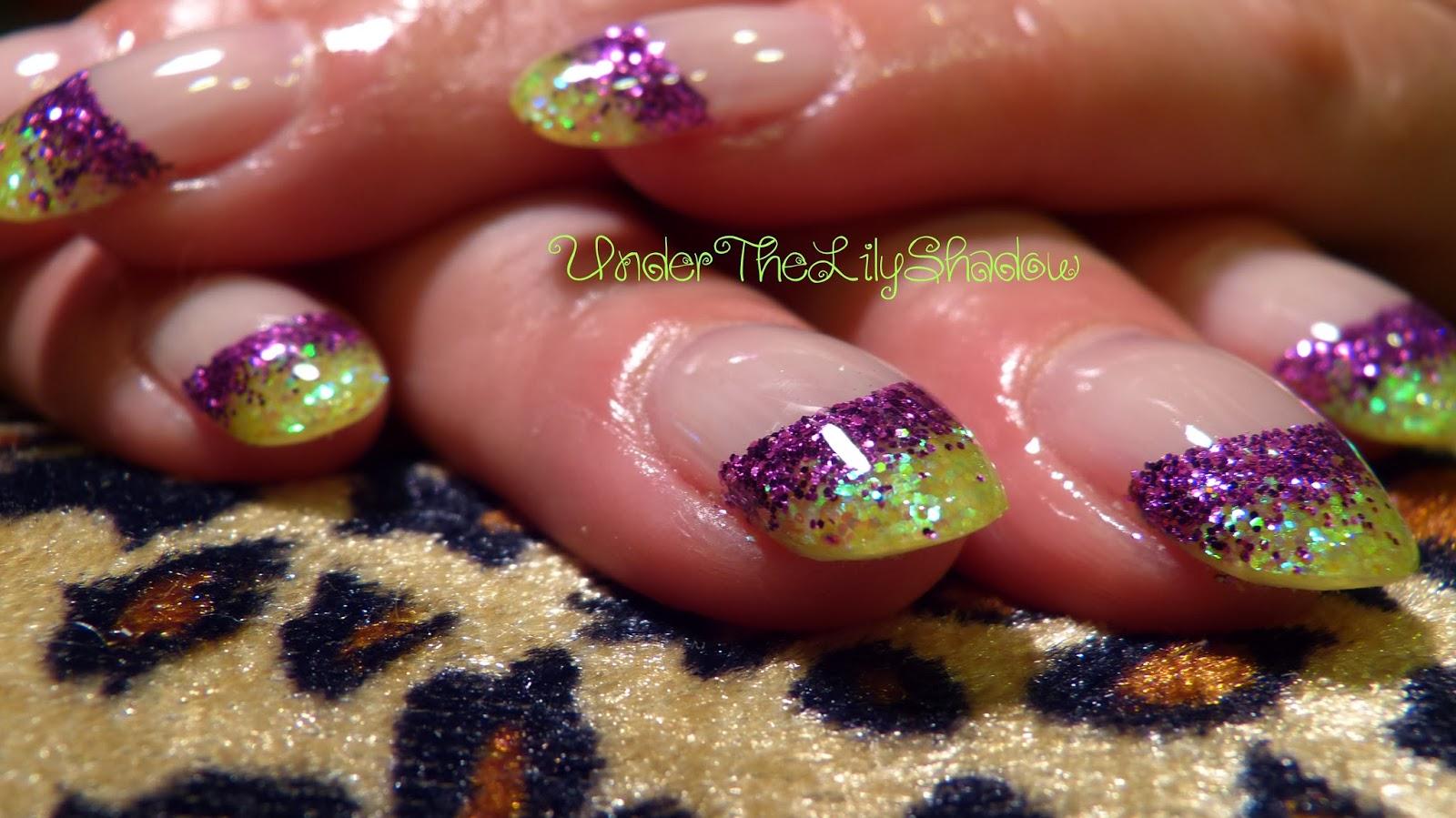 underthelilyshadow nicki minaj nails