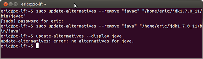 remove JDK in Ubuntu Linux
