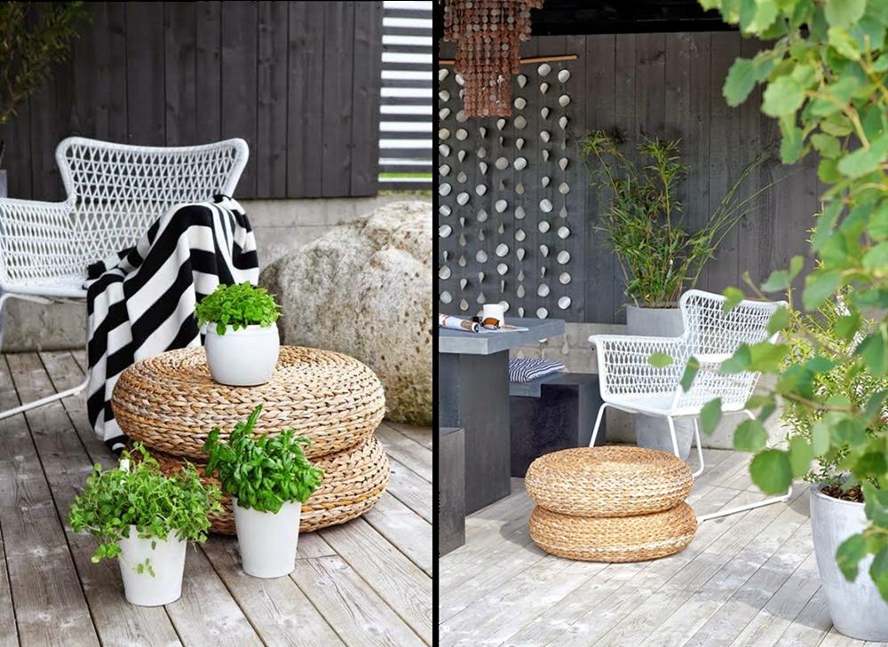 Decoraci n f cil sillon h gsten de ikea ideal para la for Sillon terraza