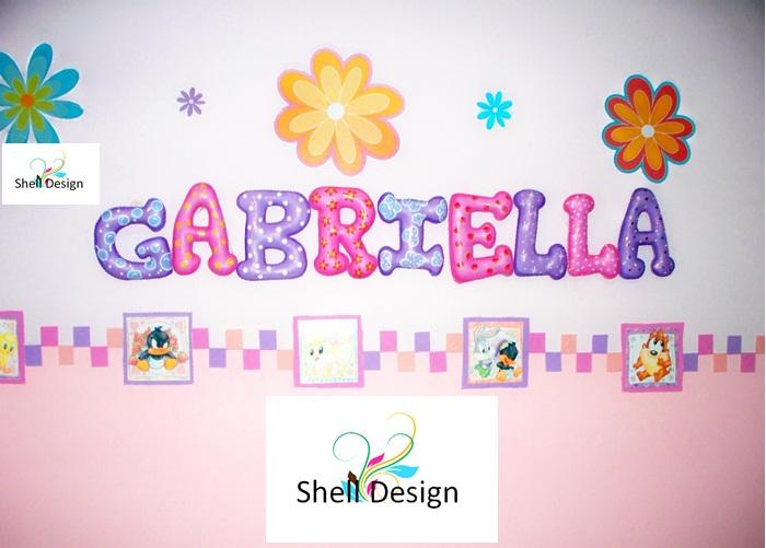 Letras decorativas para ni os y beb s decoraciones y - Letras decorativas para ninos ...