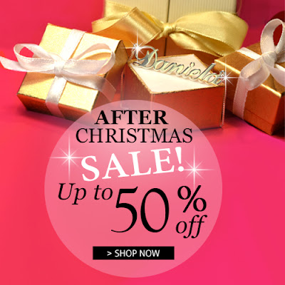 After Christmas Sale on MyNameNecklace Jewelry