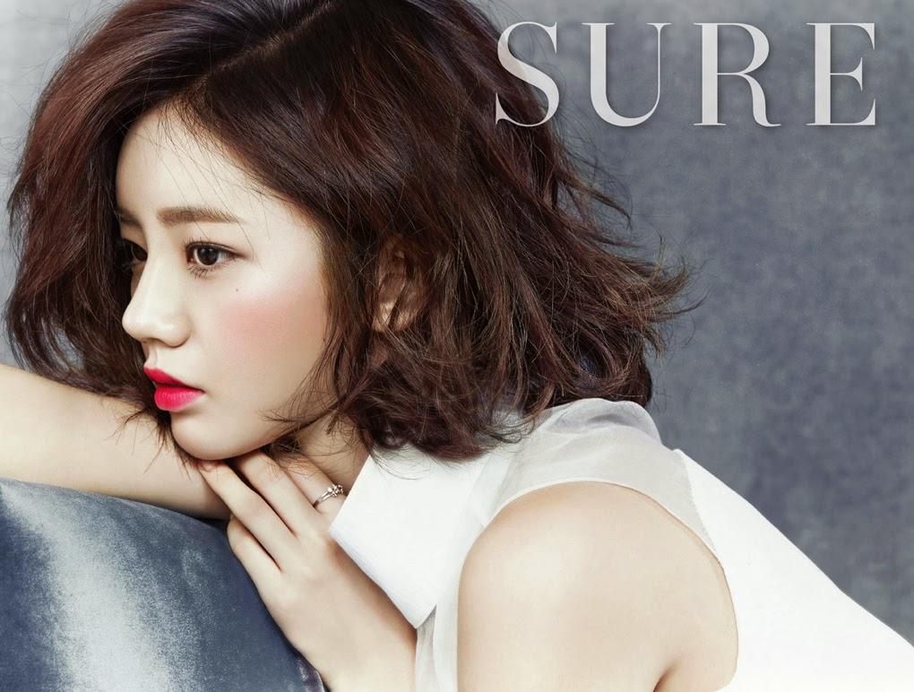 Hyeri Girl's Day - Sure Magazine December Issue 2014