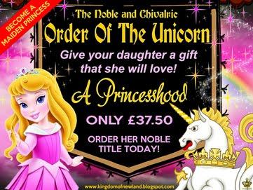 Become a Unicorn Princess