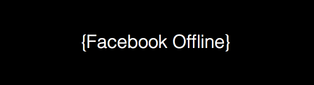 how to be on facebook but appear offline