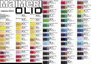 Il mondo della cornice colori ad olio offerta speciale for Colori ad olio professionali