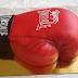 Bokszkesztyű torta / Boxing gloves cake