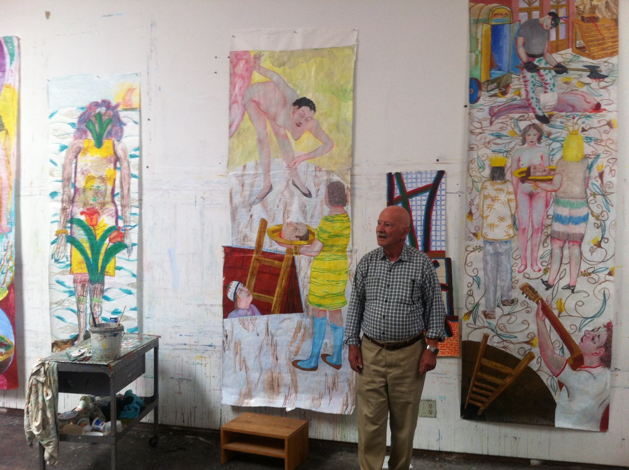Left Bank Art Blog Charles Garabedian Update