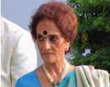 Congress leader and former minister Sarojini Pulla Reddy