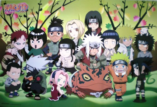 Anime Characters From Naruto : Anime naruto shippuden chibi characters