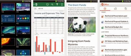 Office 365 gratis di android