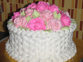 basketweave hantaran cake