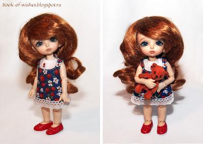 pukiFee Zoe и мини-мишка