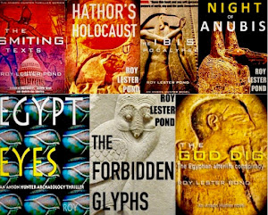 7-book EGYPT THRILLER series