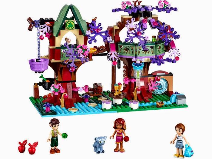 JUGUETES - LEGO Elves  41075 El Refugio del Árbol de los Elfos  Producto Oficial 2015 | Piezas: 505 | Edad: 8-12 años