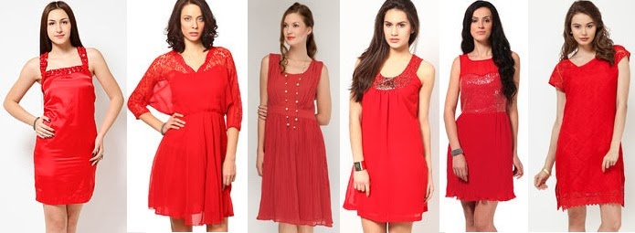 glamorous red party dresses