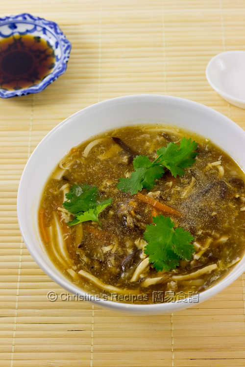 酸辣湯 Hot and Sour Soup01
