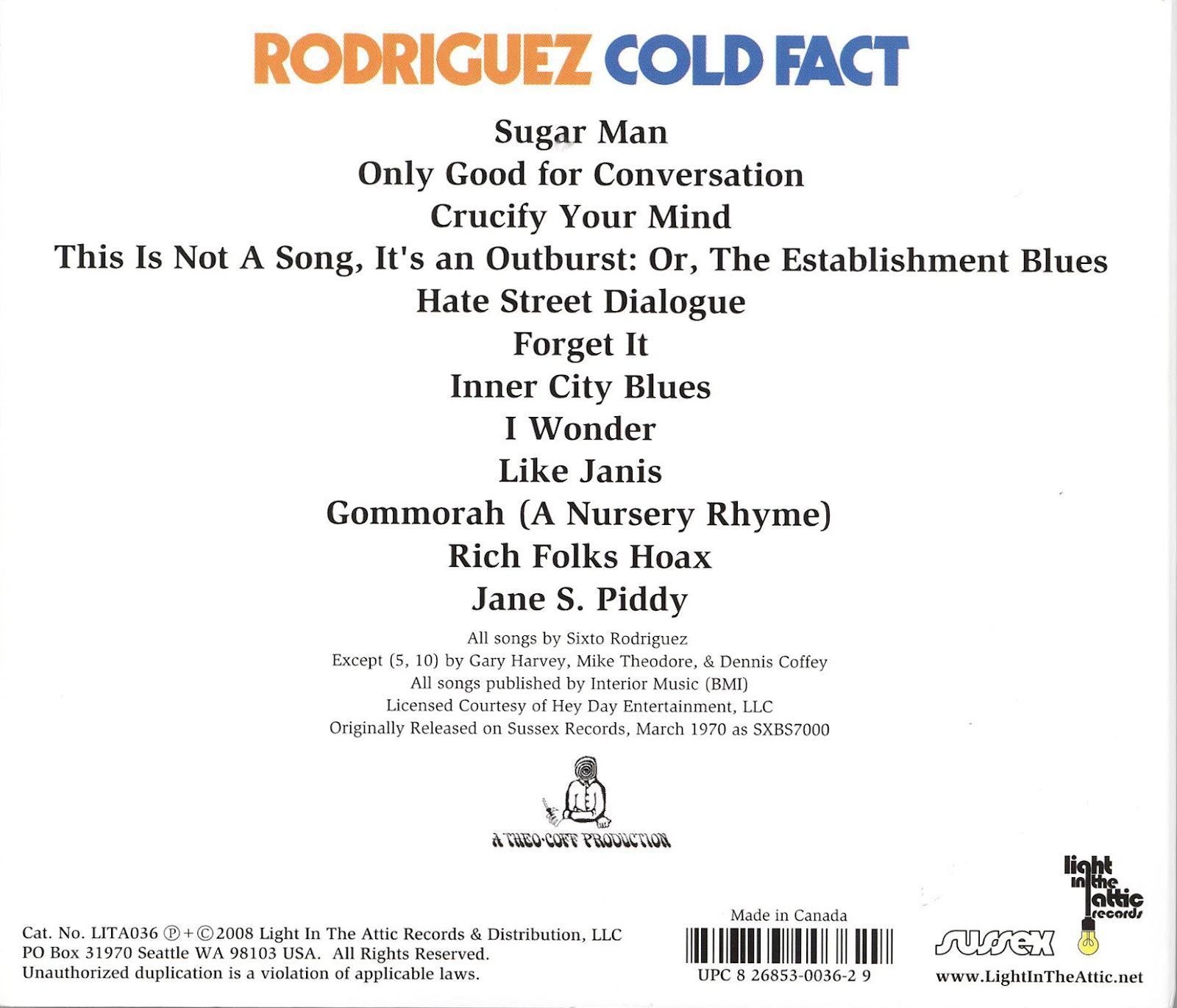 Rodriguez Live Fact