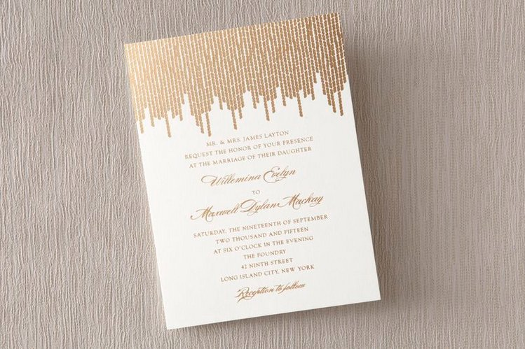 the great gatsby wedding trend part 1 - Great Gatsby Wedding Invitations