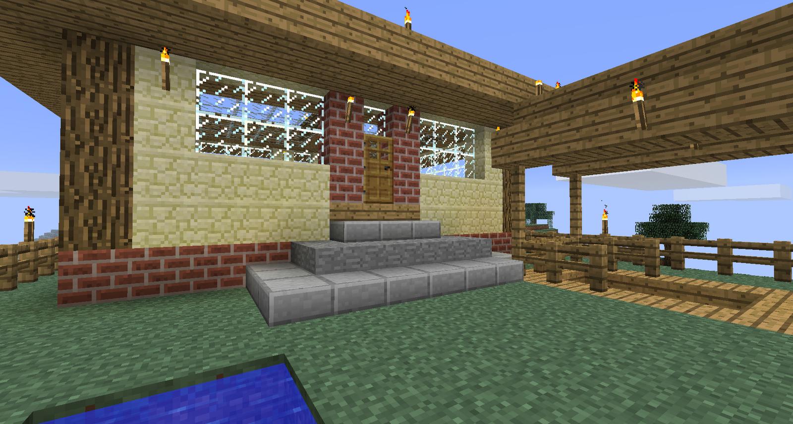 Small minecraft house ideas inside minecraft xbox 360 village seed