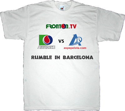 pelota mano fronton asegarce aspe Barcelona t-shirt ephemeral-t-shirts
