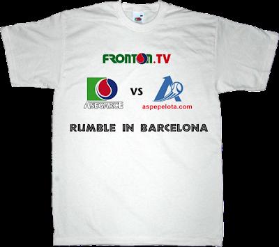 pelota mano fronton asegarce aspe Barcelona t-shirt ephemeral-t-shirts