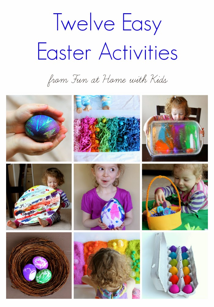 12 Easy Easter Activities For Toddlers And Older Children