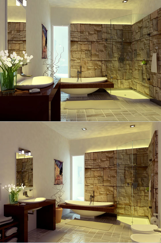 Elegant Design Bathroom
